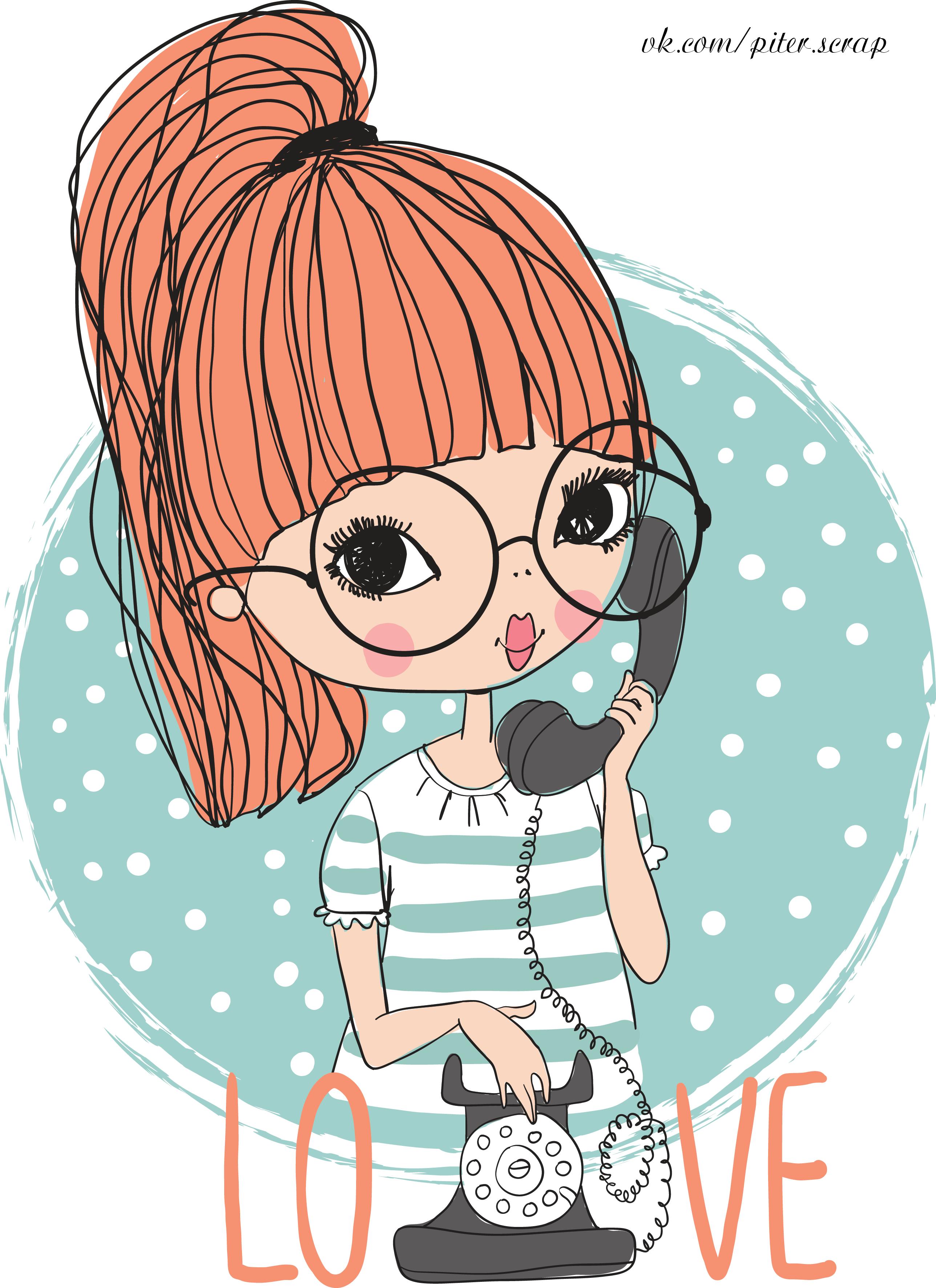 Comic book style lady clipart vector library download Natalia Skripko | Cute Kids Printables | Pinterest | Planners ... vector library download