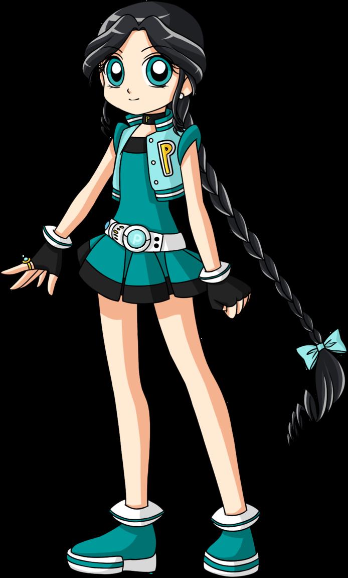 Comic book style lady laughing clipart jpg freeuse Powerpuff Girls Z OC: Ballad by Ameryliz on DeviantArt | Anime ... jpg freeuse