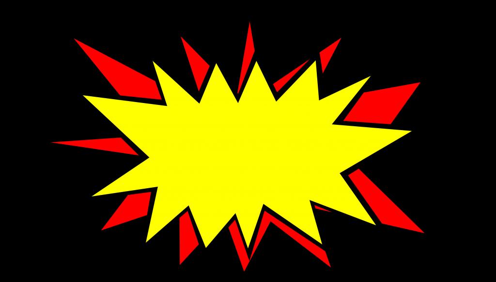 20 Comic Boom Explosion Vector (PNG Transparent, SVG) Vol. 2 ... clip art library stock