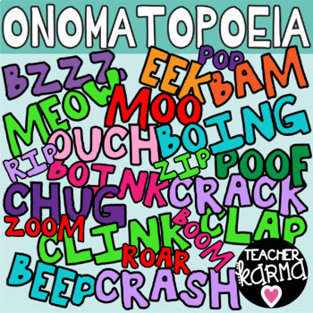 Comic words clipart graphic black and white download Onomatopoeia Clipart, Comic Sound Words graphic black and white download
