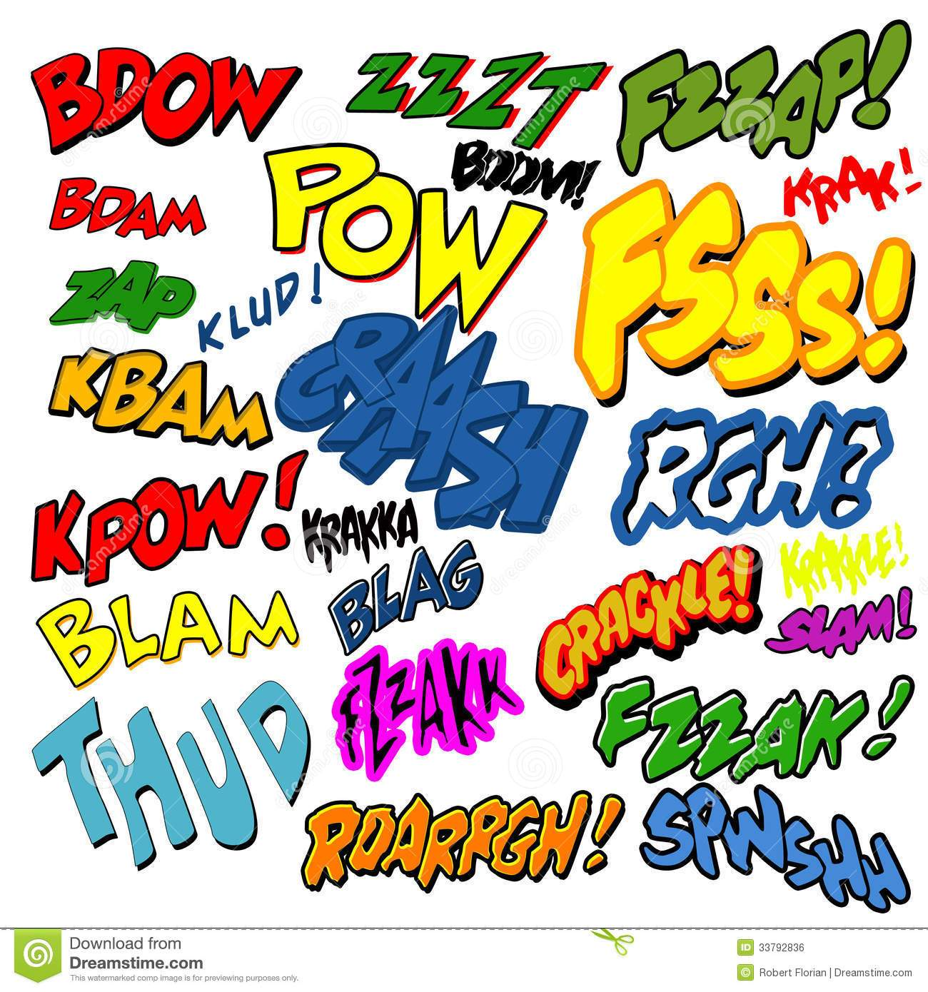 Comic words clipart banner stock Comic words clipart » Clipart Portal banner stock