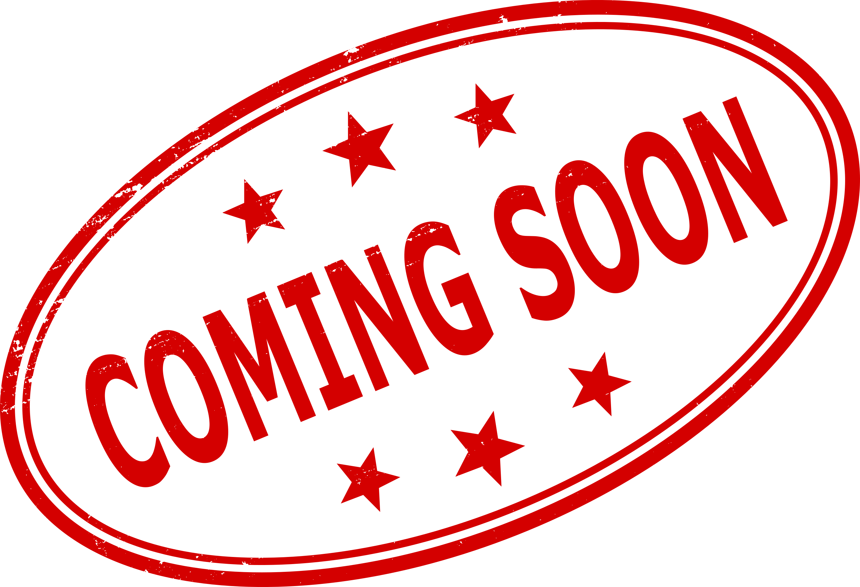Free coming soon clipart