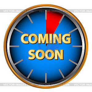 Coming soon icon clipart clip art freeuse library Coming soon icon - vector clip | Clipart Panda - Free Clipart Images clip art freeuse library