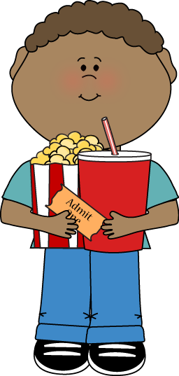 Coming to the movies clipart jpg black and white stock Handsworth Primary School jpg black and white stock