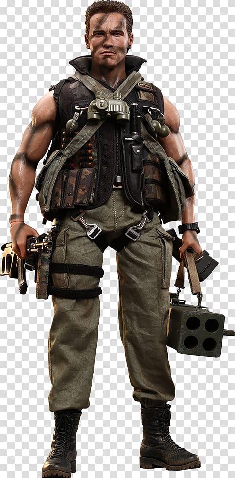 Commando dress clipart clipart transparent download Arnold Schwarzenegger John Matrix The Matrix Commando Hot Toys ... clipart transparent download