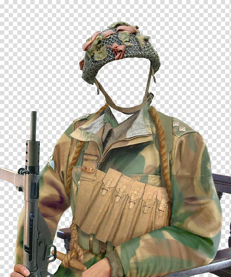 Commando dress clipart vector Second World War Military 101st Airborne Division Soldier Desert ... vector