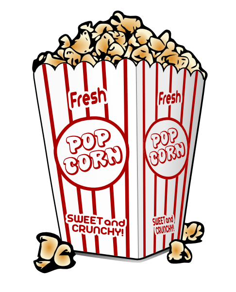 Movie theater popcorn clipart clip 23+ Movie Clipart Free | ClipartLook clip