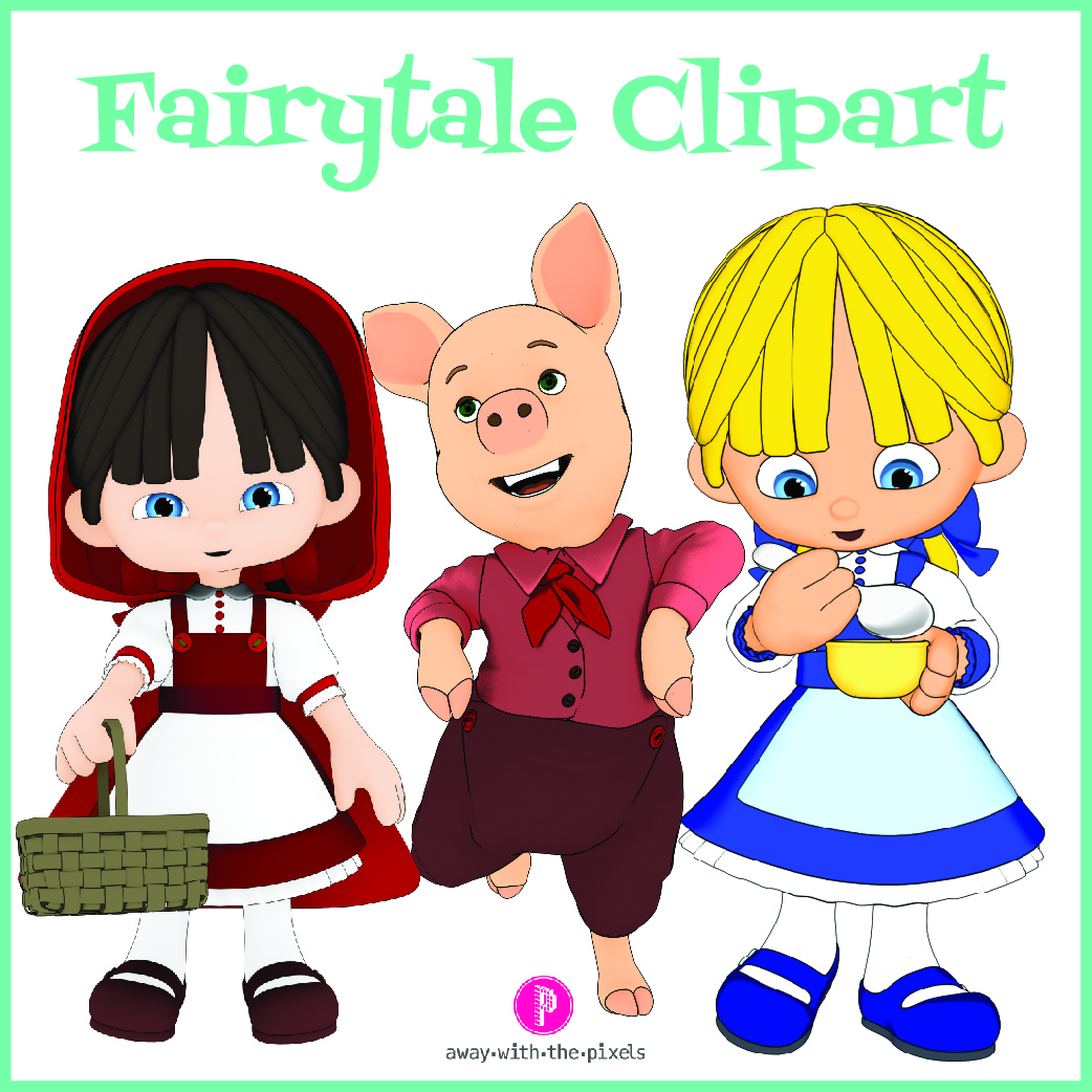 Commercial clipart for teachers image royalty free download Fairytale Clipart For Teachers – Commercial Use image royalty free download