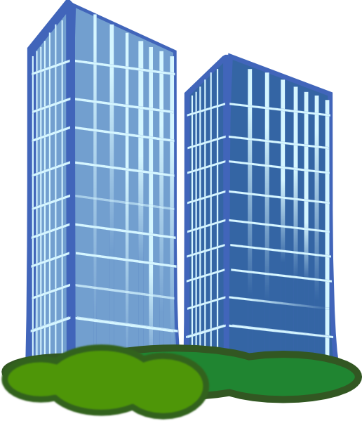 Commercial real estate clipart graphic transparent library Commercial Property Clip Art at Clker.com - vector clip art online ... graphic transparent library