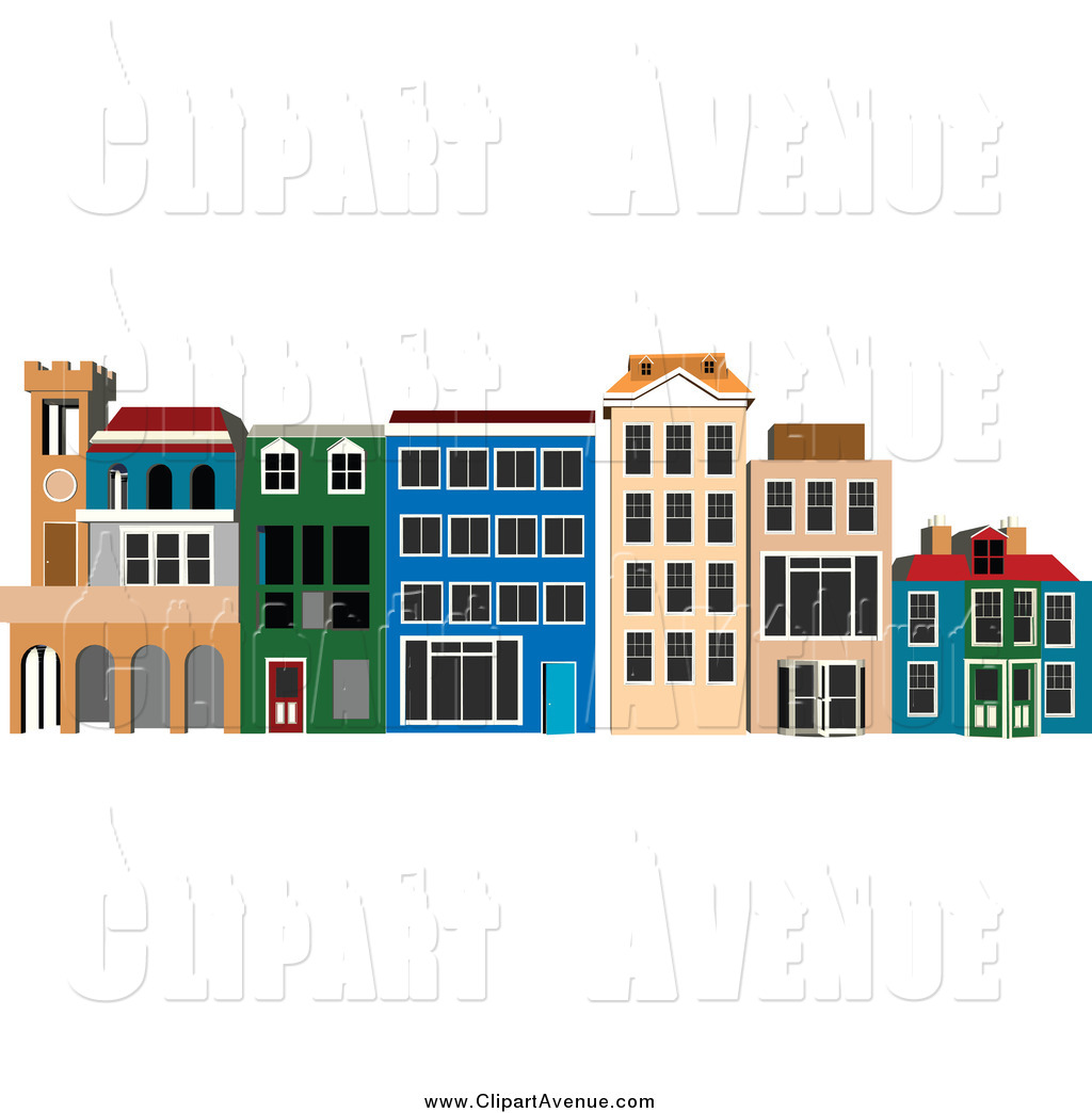 Commercial real estate clipart clip art transparent library Royalty Free Commercial Real Estate Stock Avenue Designs clip art transparent library