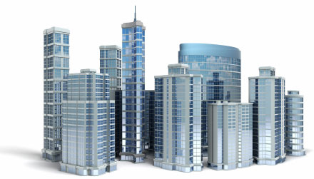 Commercial real estate clipart svg library Real Estate Info | Houses, Townhouses, Condos svg library