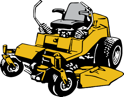 Commercial riding lawn mower clipart black and white png transparent Lawn mower commercial lawn mowing clipart - Clipartix png transparent