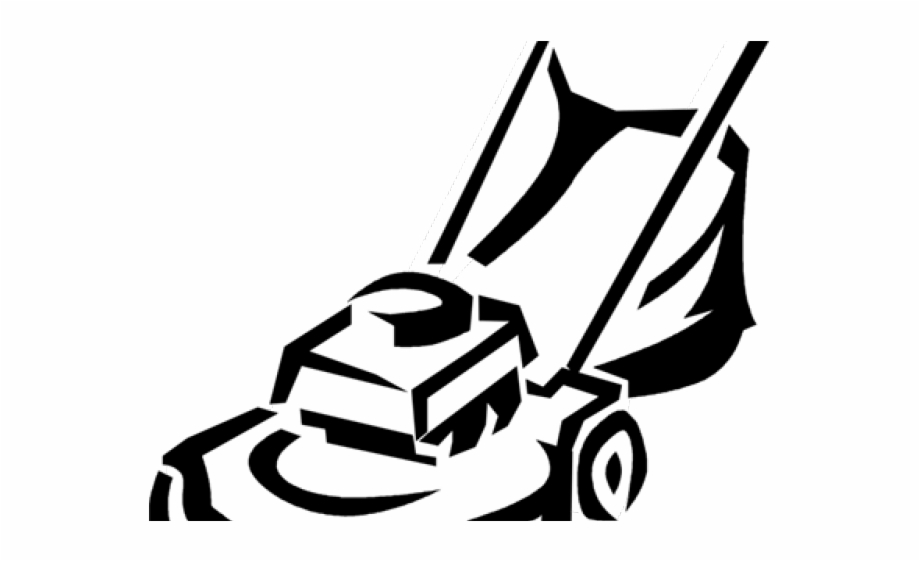 Commercial riding lawn mower clipart black and white clip Monochrome Clipart Lawn Mower, Transparent Png Download For Free ... clip