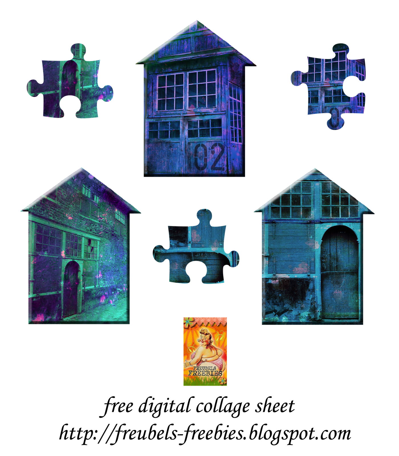 Commercial use old house digital clipart picture freeuse download free+collage+sheet+Colored+old+houses.png (1400×1600) | Collage ... picture freeuse download