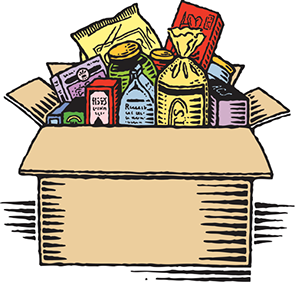 Commodity & food giveaway clipart clip black and white library Supplemental Food Program – Country Neighbor Program clip black and white library