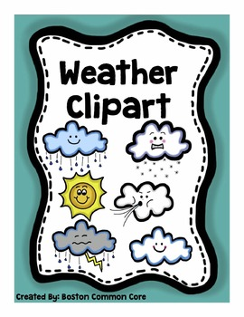 Common core clipart freeuse download Weather Clipart and Posters Package freeuse download