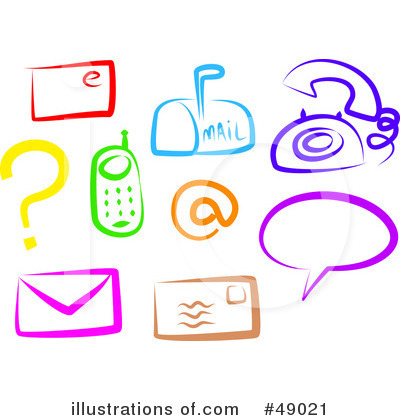 Communications illustration by prawny. Free clipart images for communication