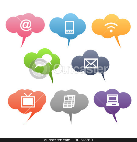 Free clipart images for communication. Communications station