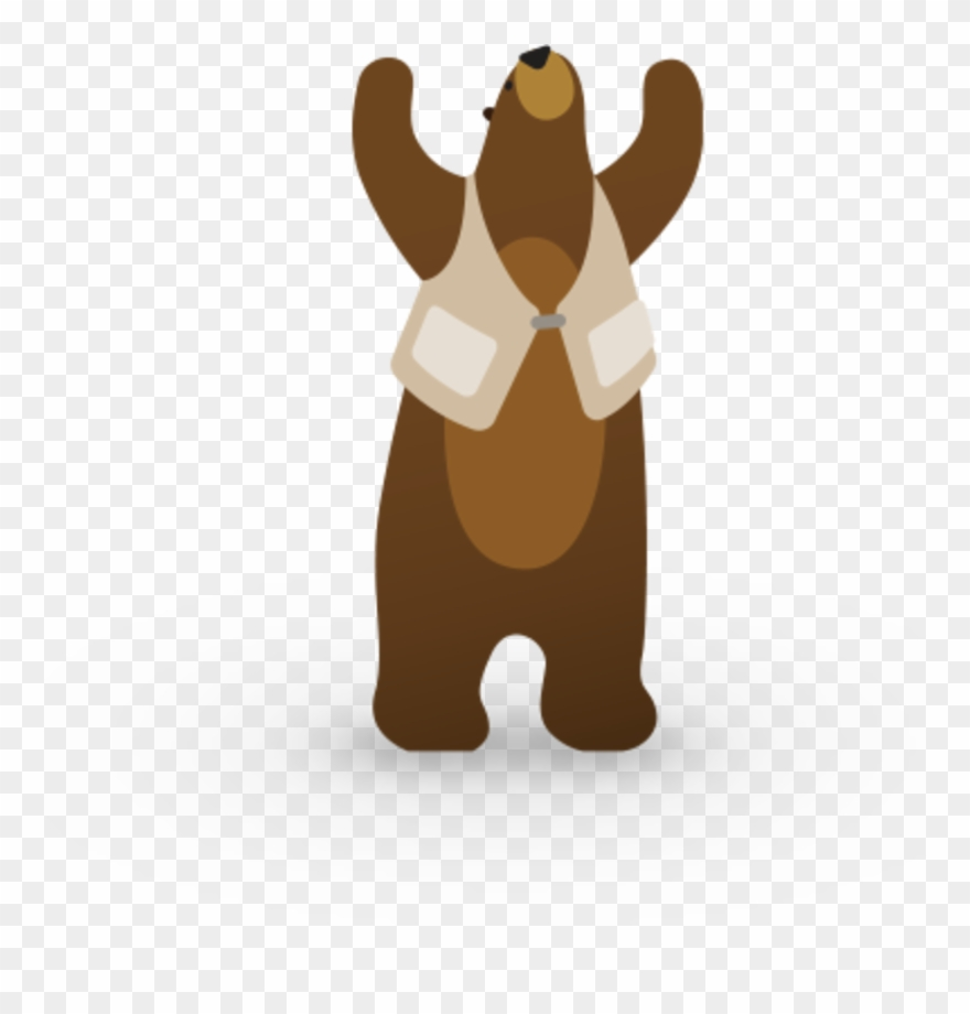 Community bear clipart graphic See January \'19 Admin Meeting At Trailblazer Community - Brown Bear ... graphic