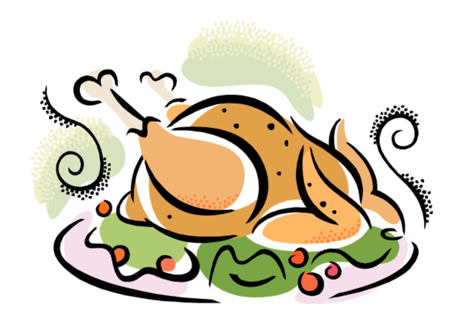 Community thanksgiving meal clipart banner transparent library Community Thanksgiving Dinner - Turkey Dinner Clip Art, Transparent ... banner transparent library