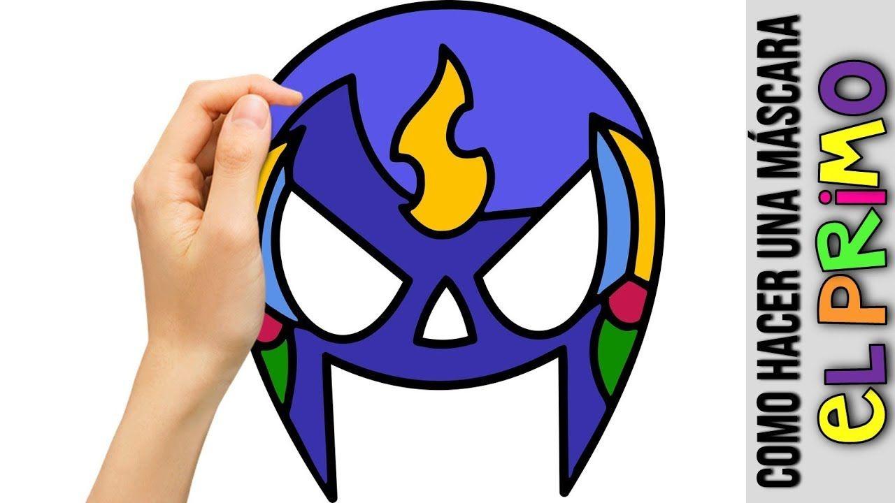Como hacer un logo clipart clipart free download Como Hacer Mascara De El Primo De Brawl Stars ☆ Dibujos Fáciles ... clipart free download