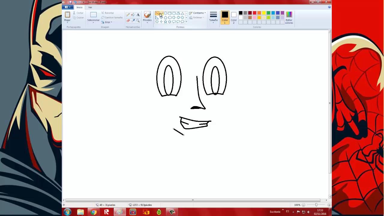Como hacer una imagen clipart en paint clipart library stock Como hacer una cara en paint clipart library stock