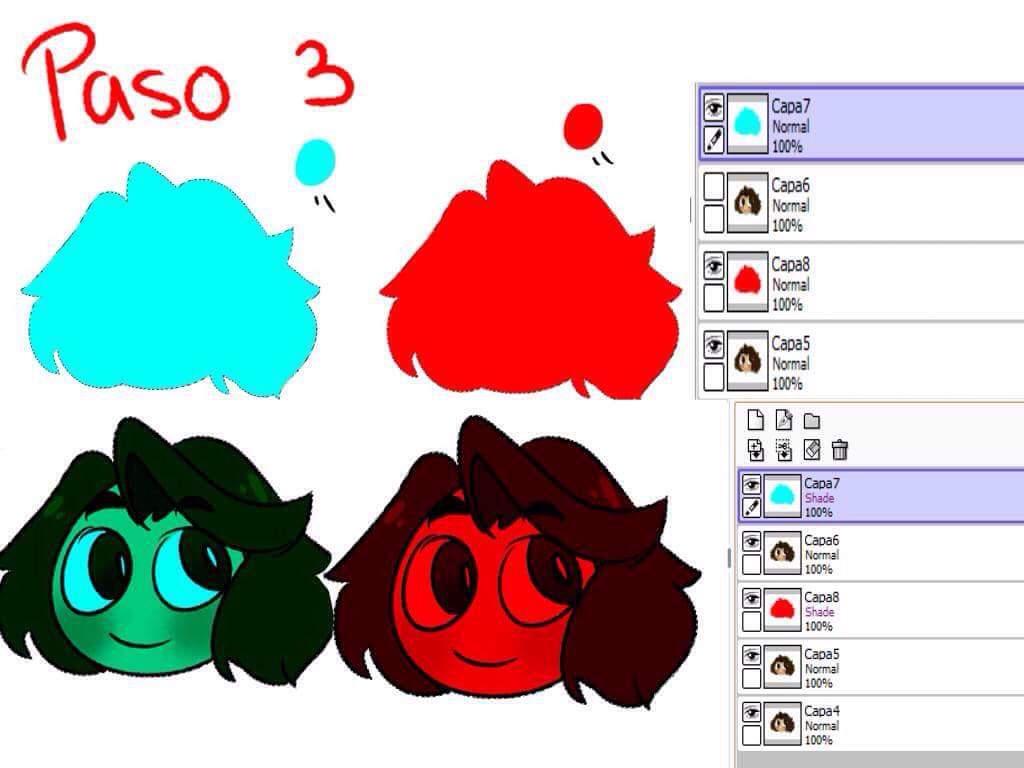 Como hacer una imagen clipart en paint png royalty free Turorial:. Efecto 3D en Paint Tool Sai | •Arte Amino• Amino png royalty free