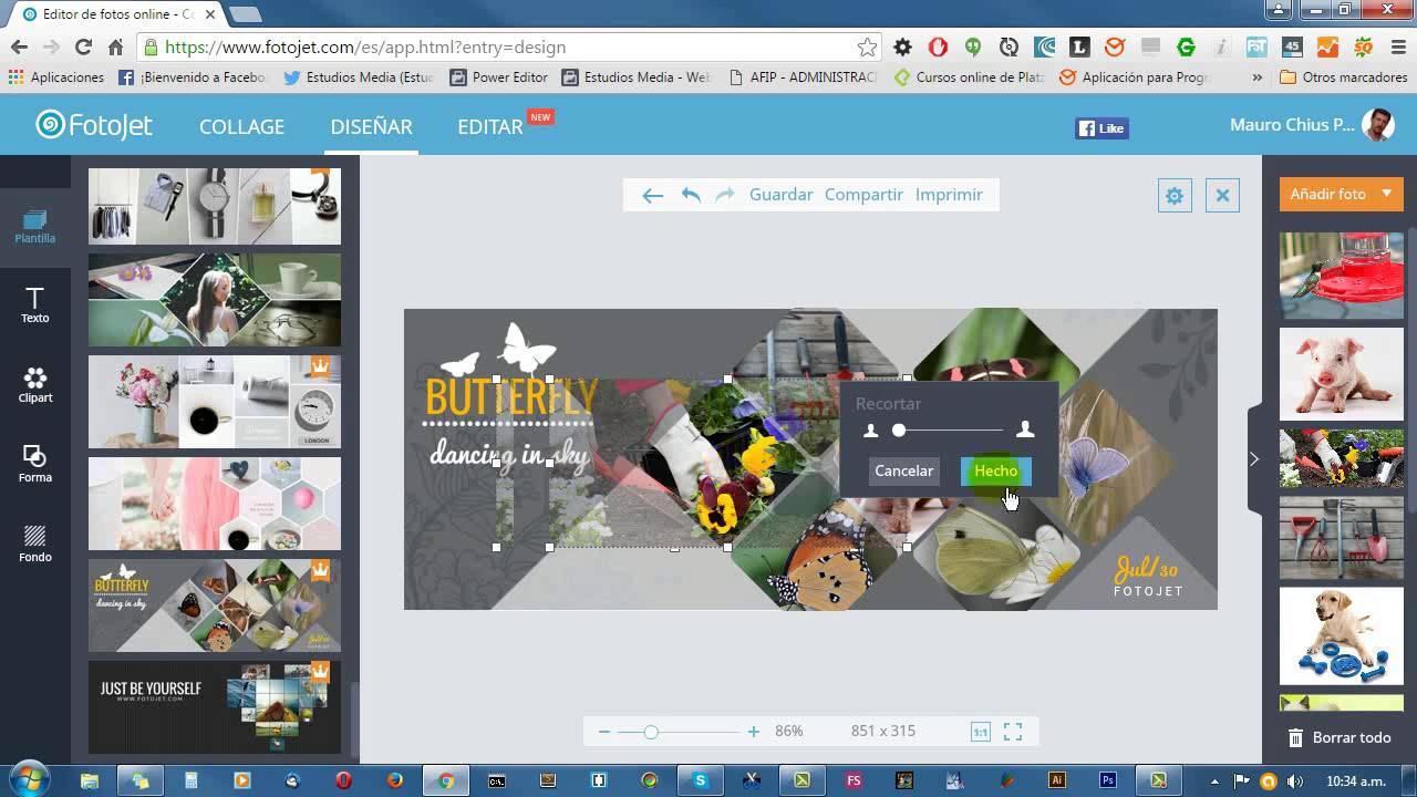 Como hacer una imagen clipart online