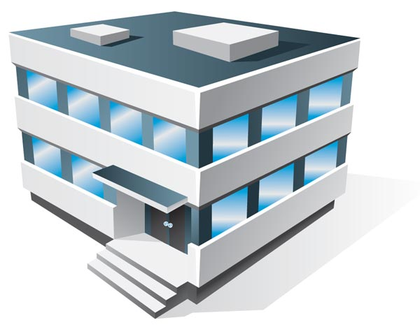 Company building clipart png vector download Office building clipart png - ClipartFest vector download