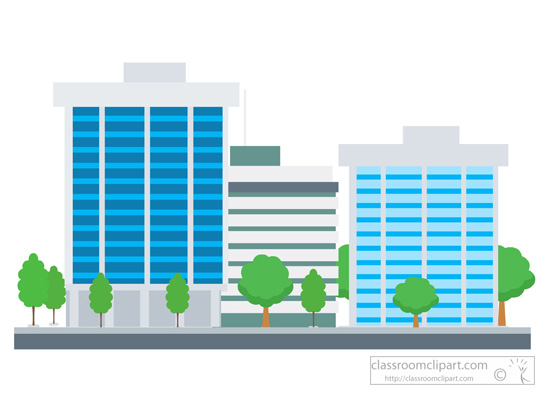 Company building clipart png graphic black and white download Clip Art Buildings & Clip Art Buildings Clip Art Images ... graphic black and white download