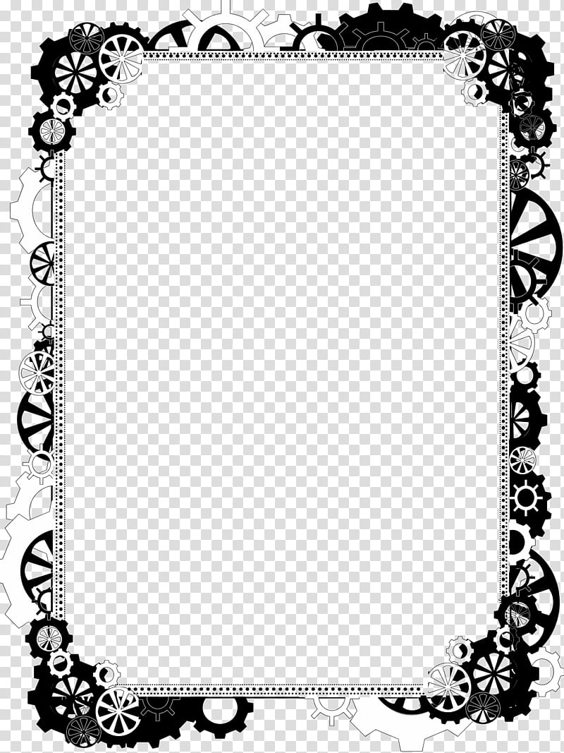 Compare 2 products clipart black and white banner library stock Bdr Steampunk Bling , black and white borderlines transparent ... banner library stock