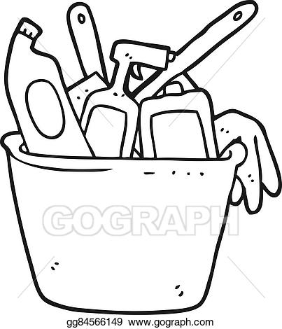 Materials clipart black and white clip Clean clipart black and white 2 » Clipart Station clip