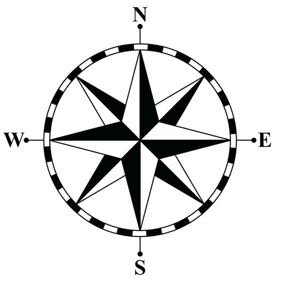Compass clipart black and white picture Compass Clipart Black And White   Free download best Compass Clipart ... picture