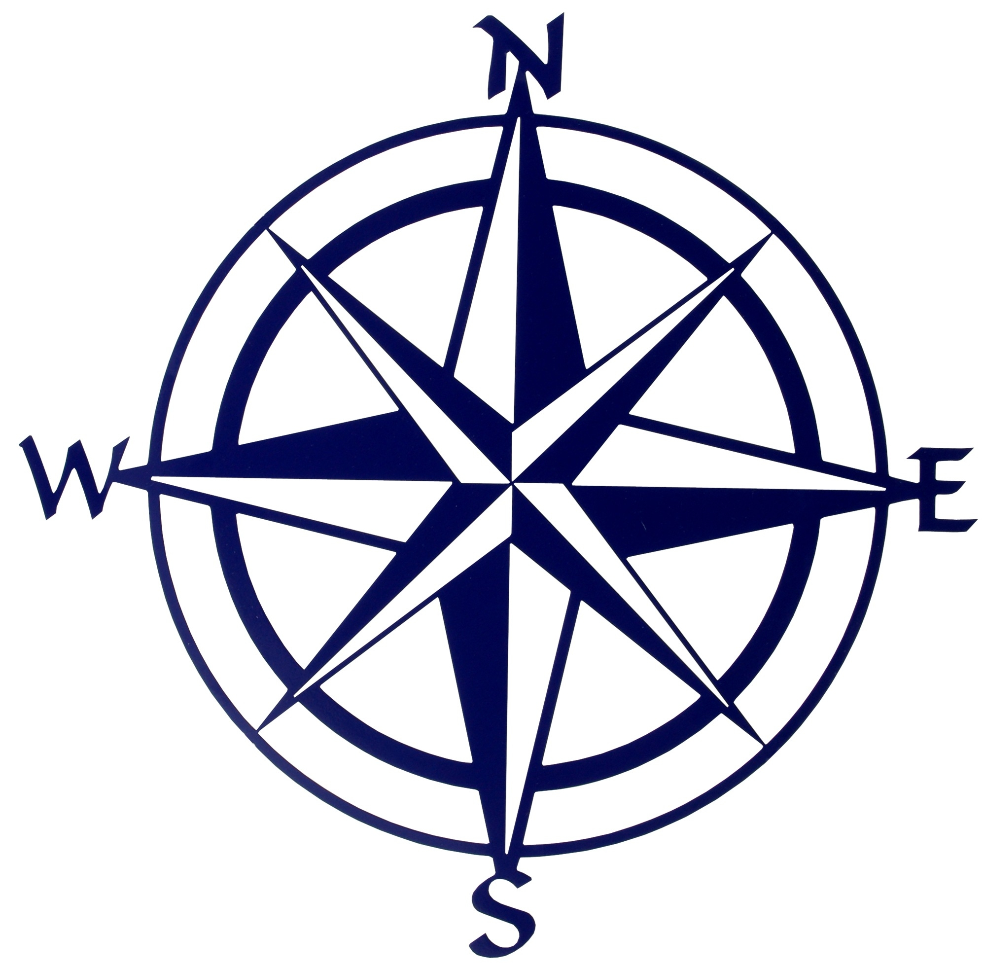 Compass clipart black and white picture black and white Compass Clipart Black And White – Pencil And In Color Compass within ... picture black and white