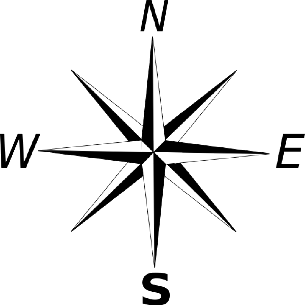 Compass clipart black and white banner library download Compass Clipart Simple Free On Transparent Png - AZPng banner library download