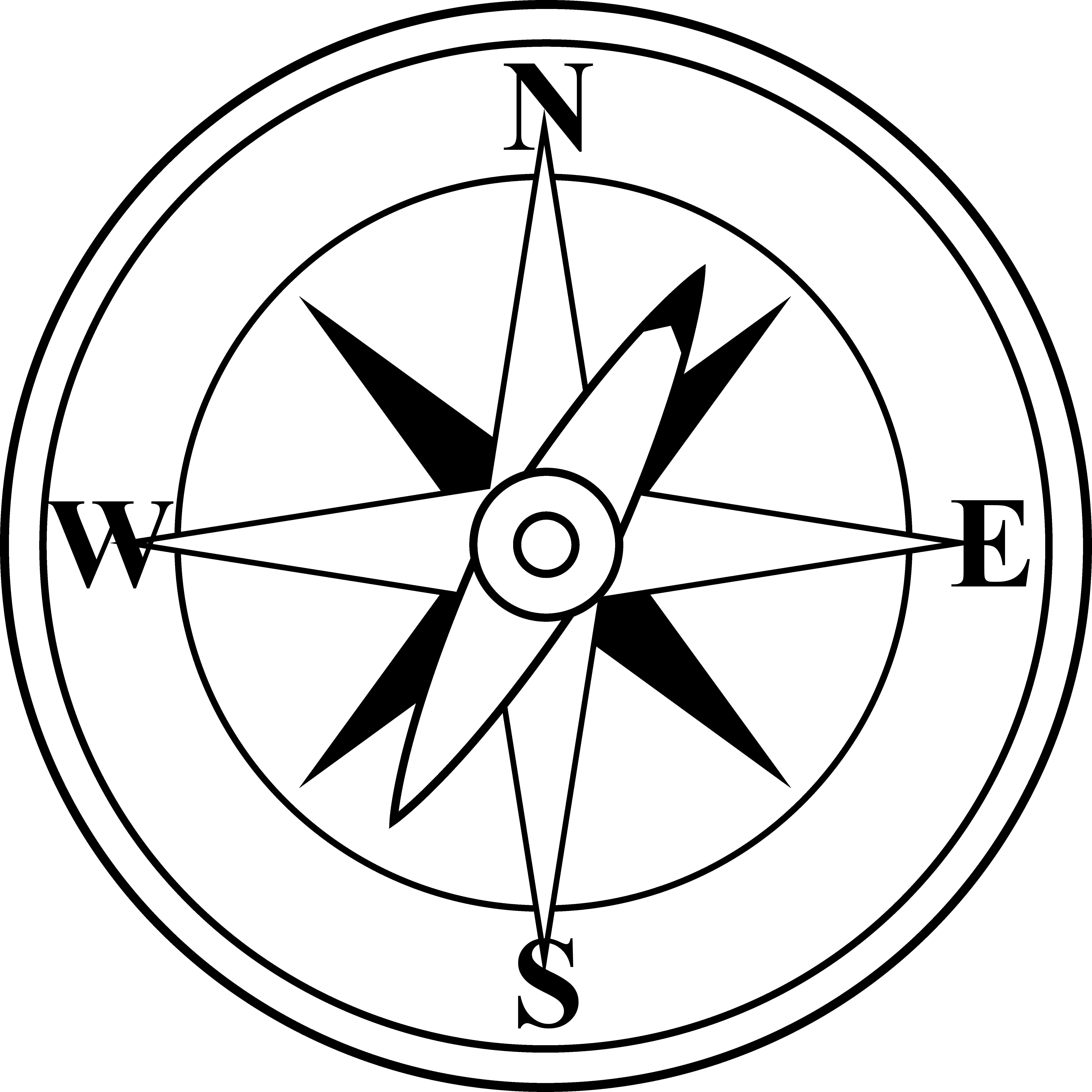 Compass clipart black and white clip art download Compass black and whitepass free clip art - WikiClipArt clip art download