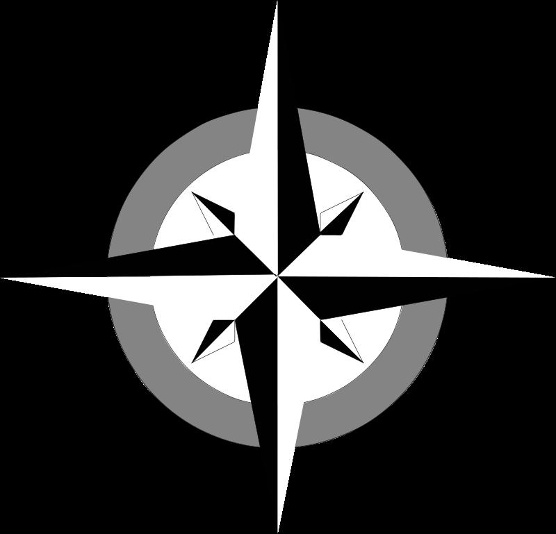 Compass face clipart png transparent Free Clipart: Compass rose 2 | Anonymous png transparent