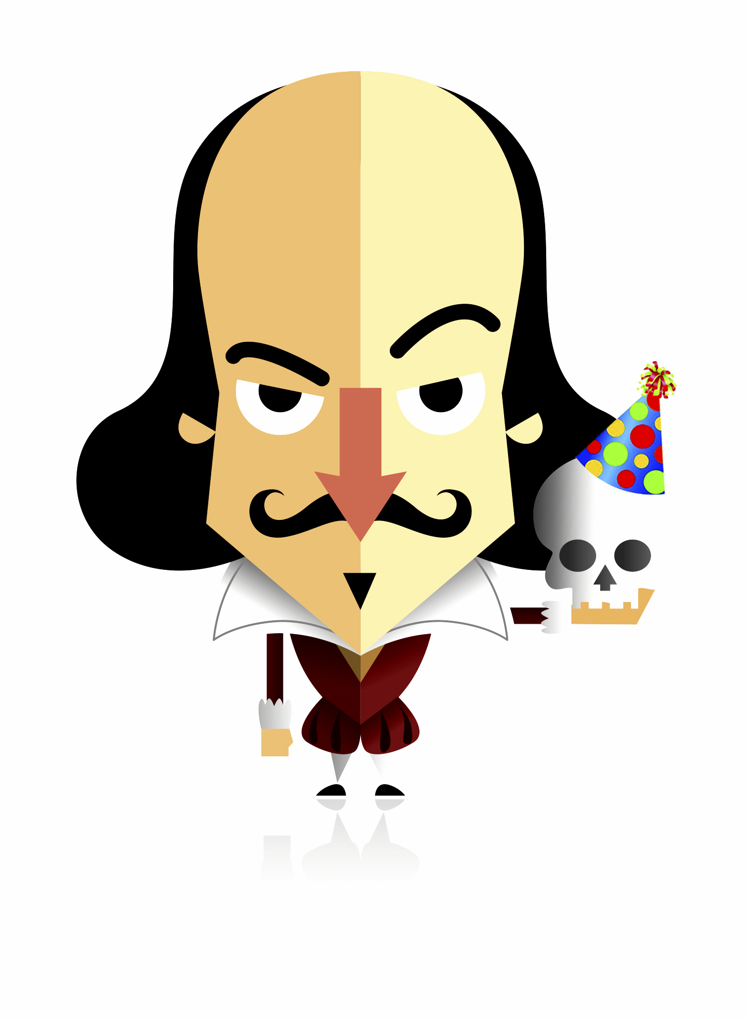 Complete works of shakespeare clipart image black and white library The Complete Works of William Shakespeare Abridged - Cornell image black and white library