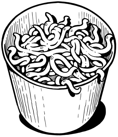 Composting worms clipart black and white transparent download Worm Composting   StopWaste - Home, Work, School transparent download