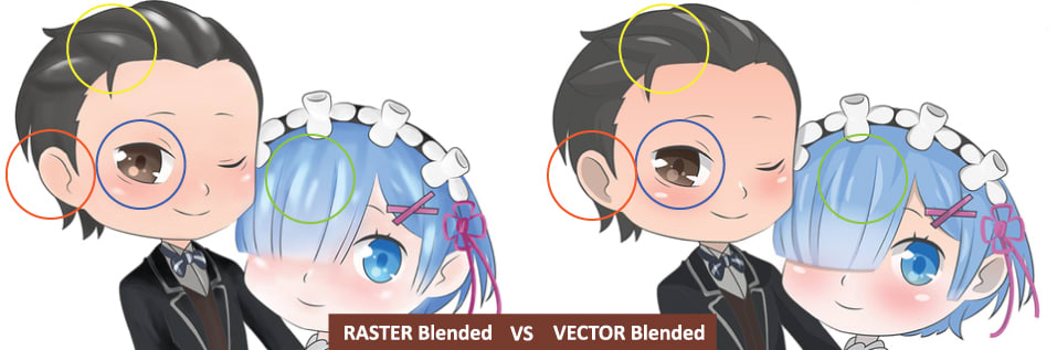 Compress clipart illustrator image library download What\'s the Difference Between Raster and Vector? - Resources image library download