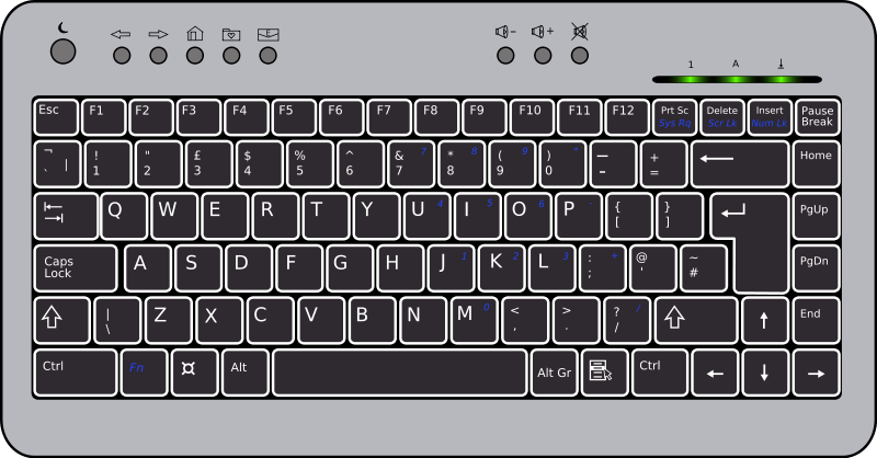 Computer and keyboard clipart clipart stock Free to Use & Public Domain Keyboards Clip Art clipart stock