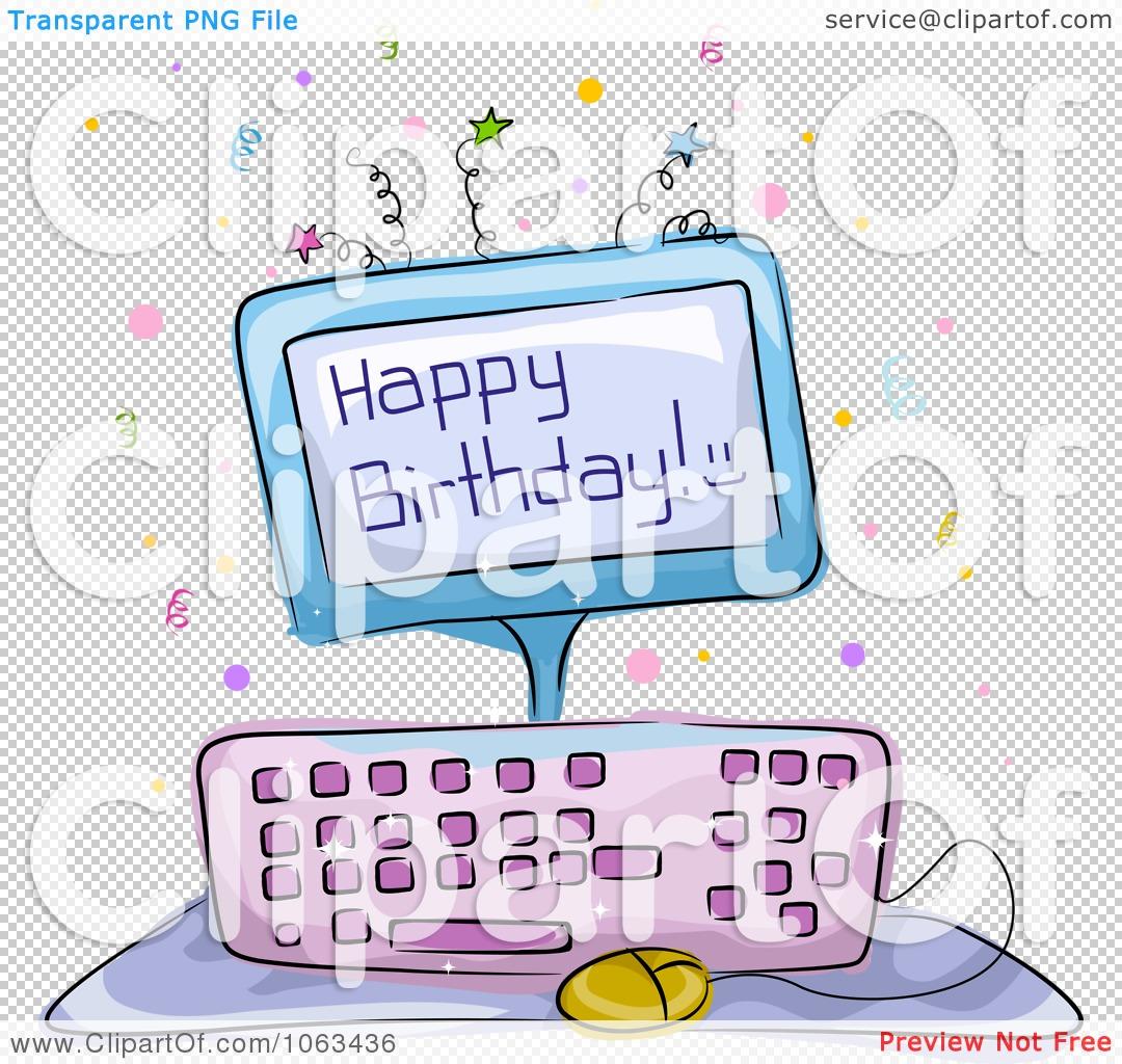 Computer birthday cake clipart stock Computer birthday cake clipart - ClipartFest stock