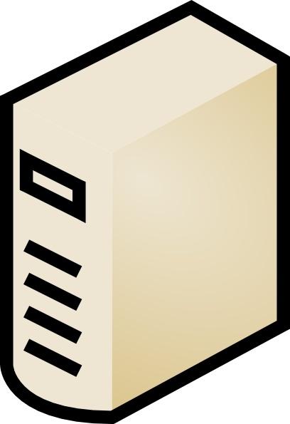 Computer case clipart. Clip art free vector