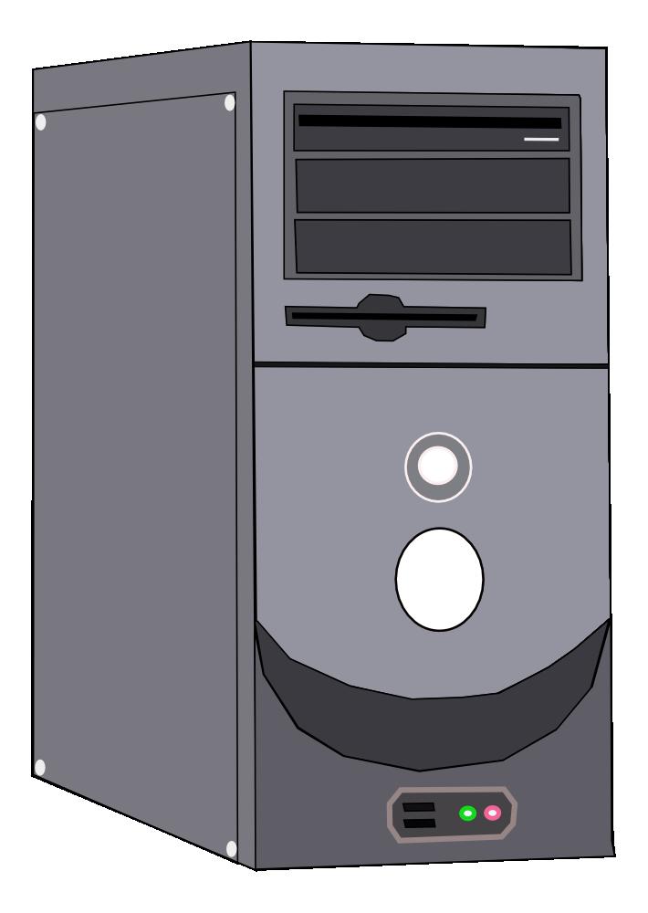 Computer case clipart. System unit clipartfest