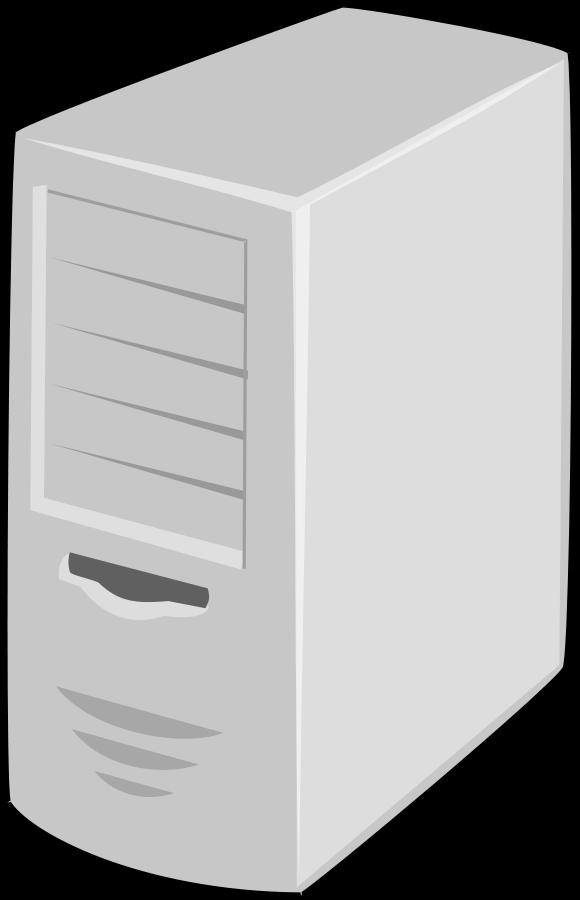 Computer case clipart. Server free clipartfest servercomputerclipart