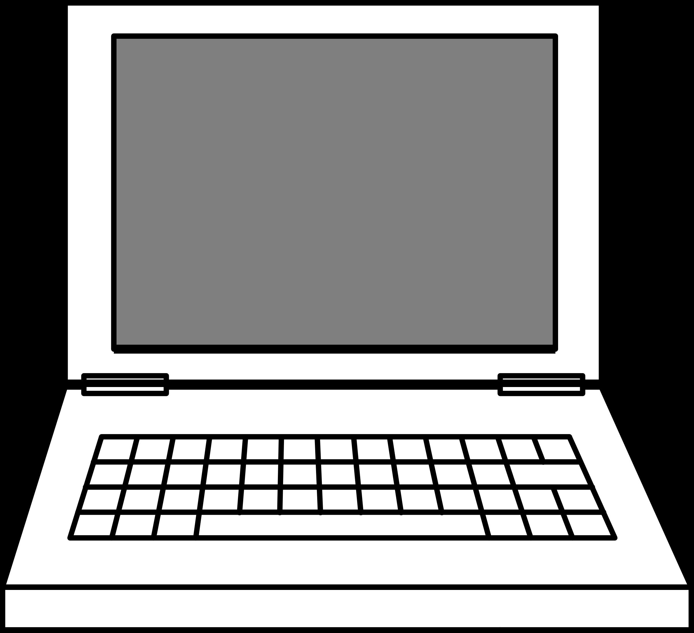 Computer clipart transparent background clipart transparent Laptop Black and white Free content Clip art - Space Computer ... clipart transparent