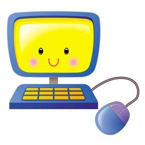 Computer clipart with kids. Clip art for panda
