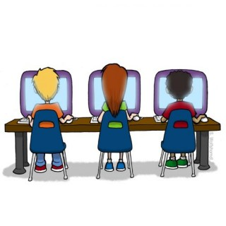 Lab for clipartfest . Computer clipart with kids