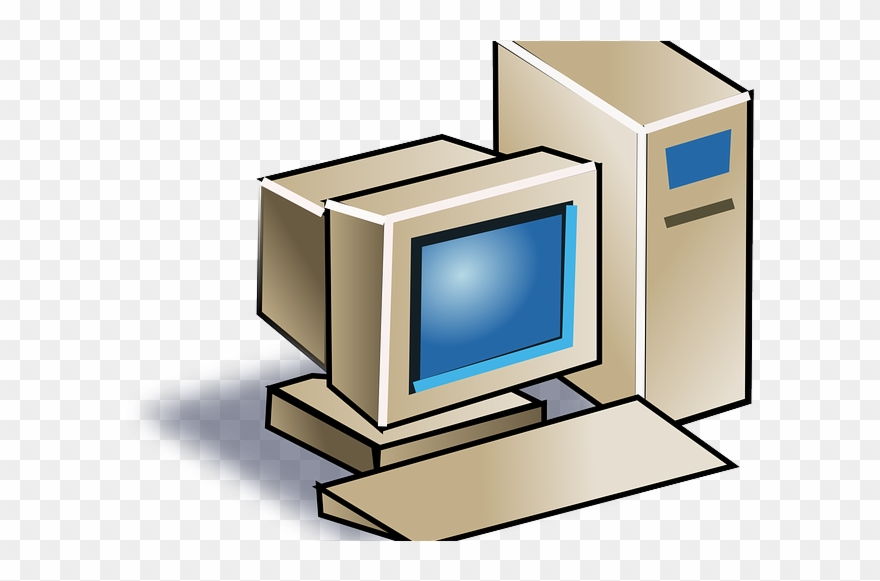 Computer graphic clipart royalty free Dated Desktop Computer Graphic Clipart (#3082578) - PinClipart royalty free
