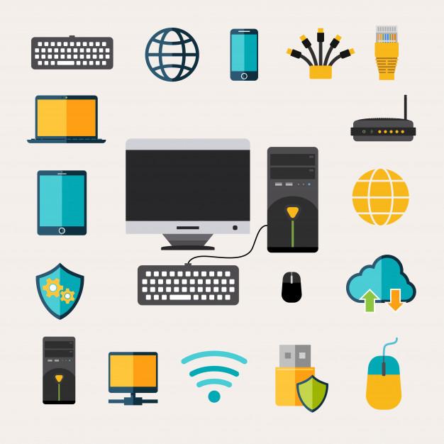 Computer hardware logo clipart vector library Computer Vectors, Photos and PSD files | Free Download vector library